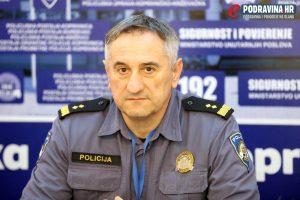 Policija - konferencija za medije