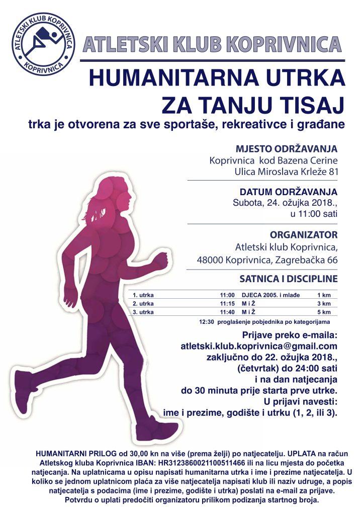 Humanitarna utrka za Tanju Tisaj