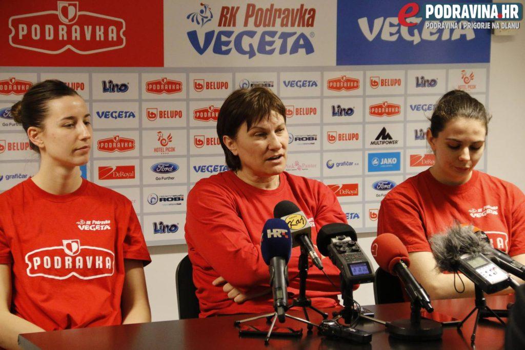 Press Podravka - Lokomotiva // Foto: Jurica Karan