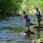 3. i 4. kolo Hrvatske Spin lige (ribolov pastrva s obale umjetnim mamcima)