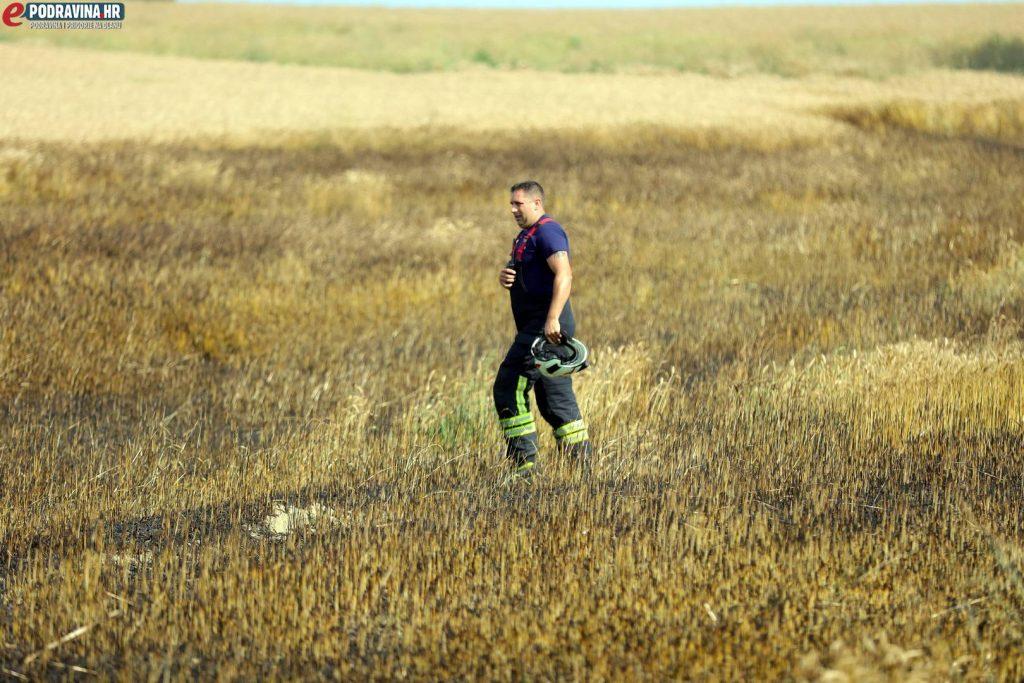 Požar na polju
