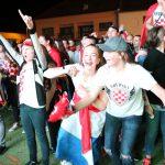 Hrvatska - Engleska - Polufinale pobjeda - Zrinski trg Koprivnica