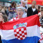 Hrvatska - Engleska Svjetsko prvenstvo Zrinski trg Kprivnica