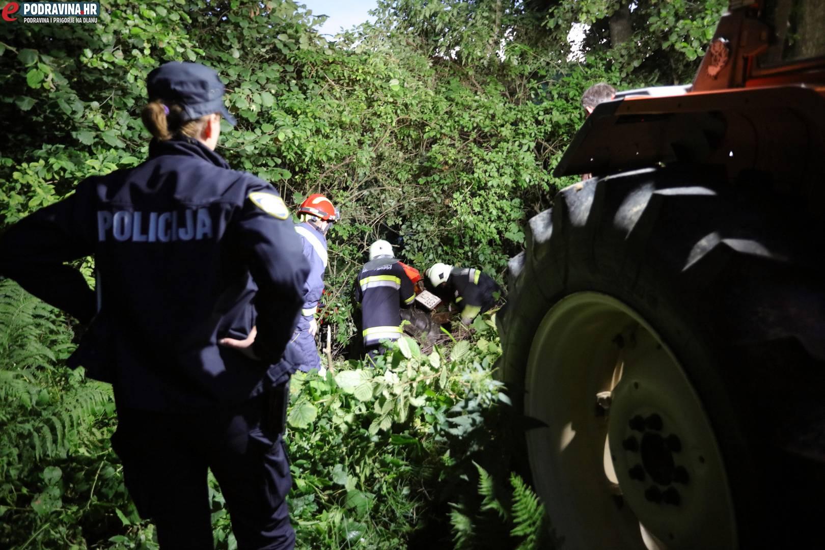 Poginuli traktorist