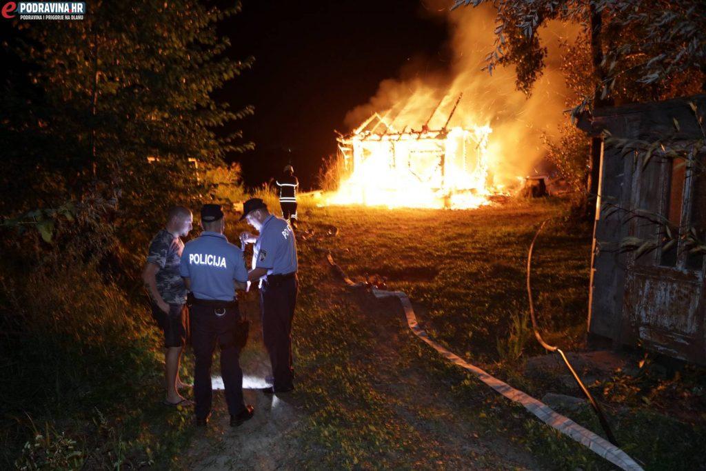 Požar na Lazinama