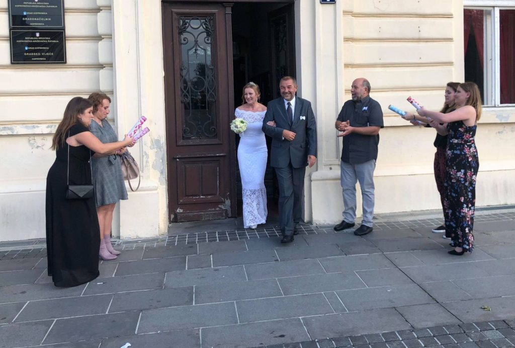Vjenčanje Darko Ledinski i Kristina Španić