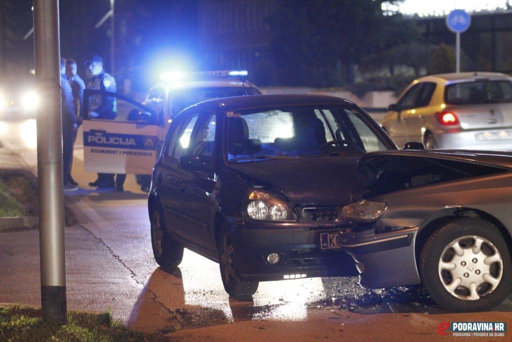 Prometna nesreća - Ante Starčevića Koprivnica - Kod Podravke
