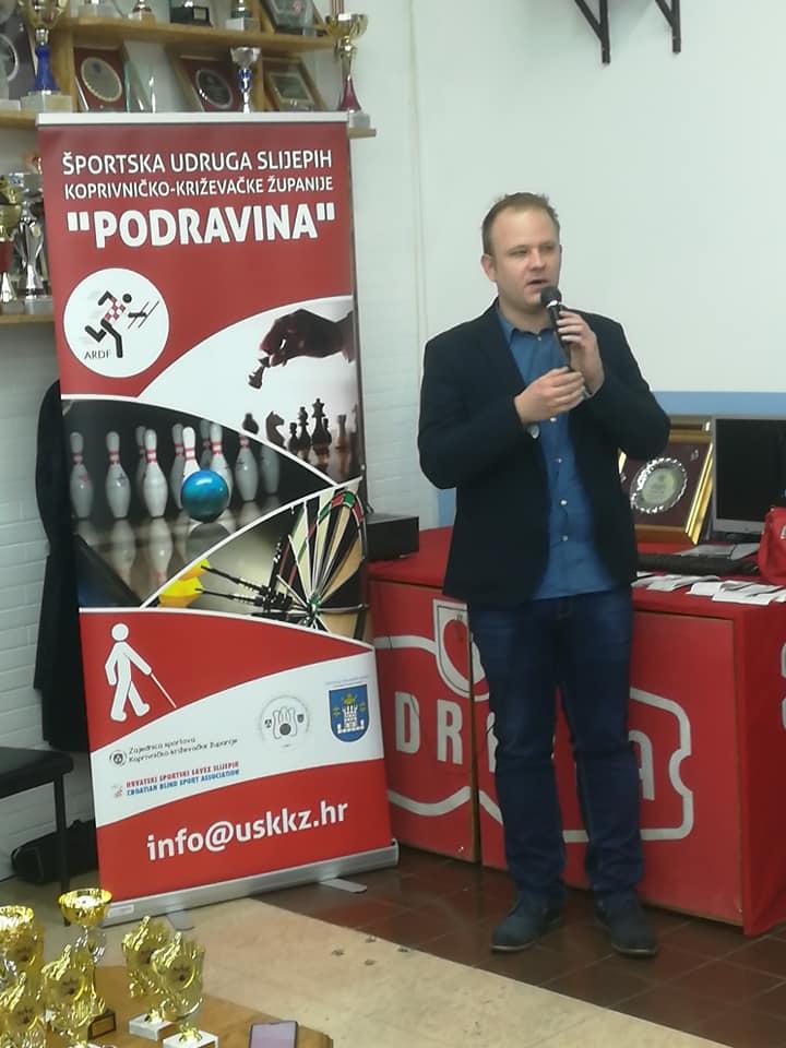 Foto: Športska udruga slijepih Koprivničko-križevačke županije Podravina