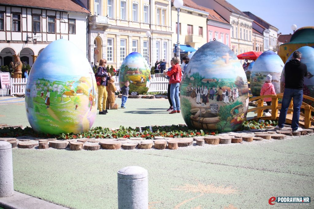 Špica Zrinski trg Koprivnica