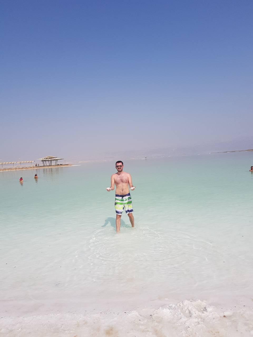 Mrtvo more- Sol umjesto pijeska? možeeee 😎 // Privatna arhiva
