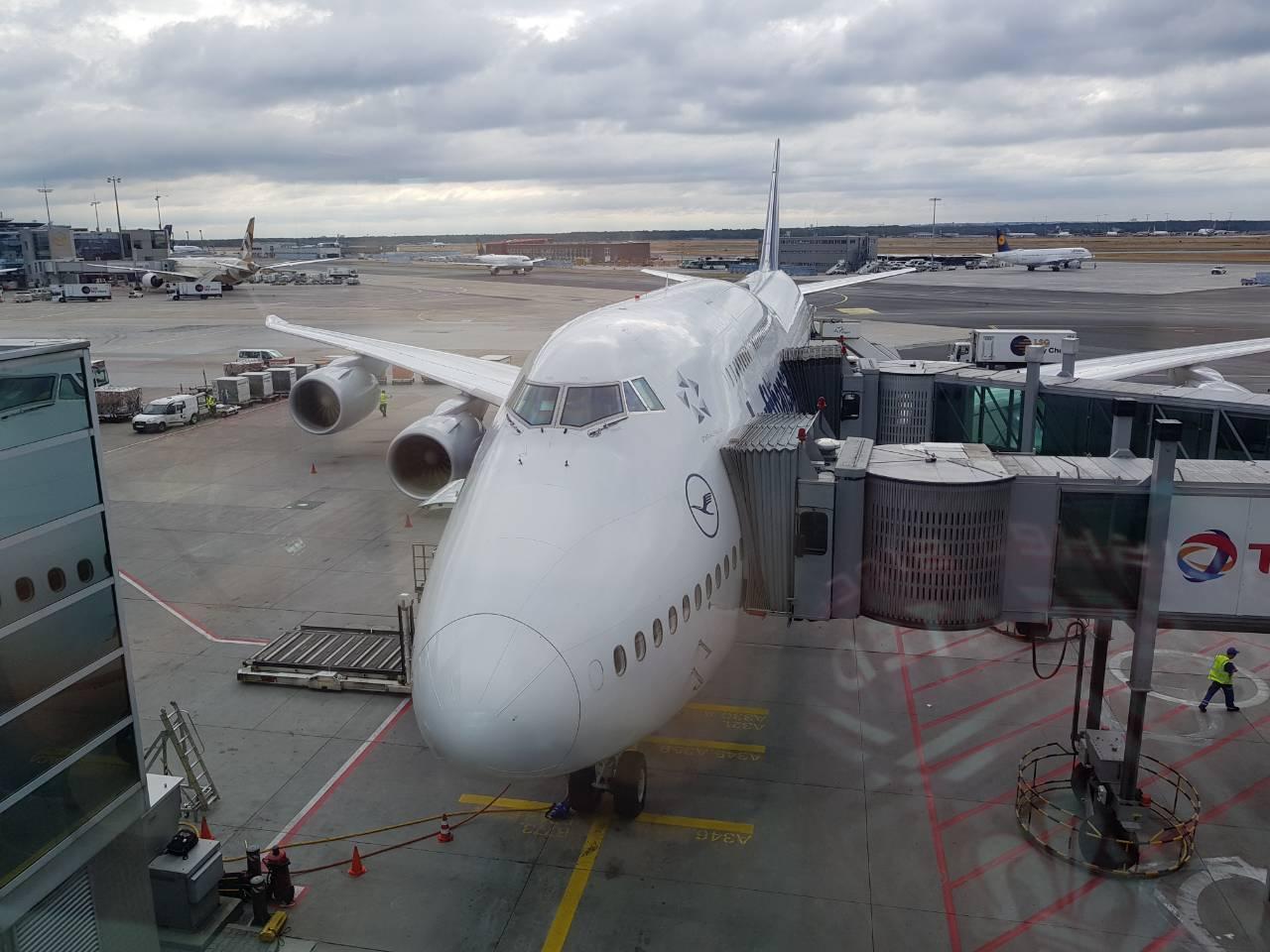 Műnchen - San Francisco moje prevozno sredstvo Boeing // Privatna arhiva