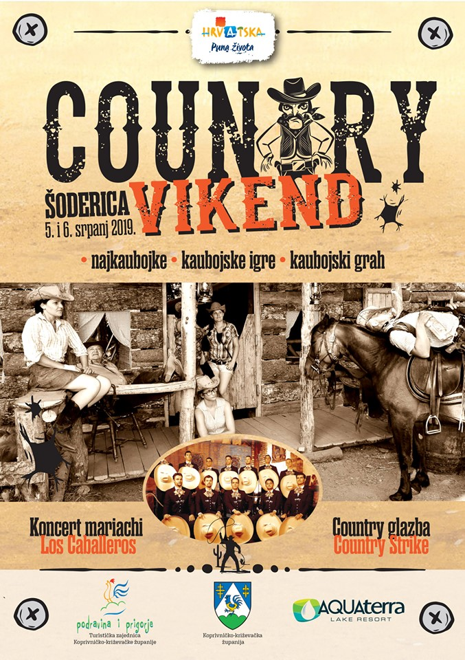 Country vikend šoderica 2019 plakat