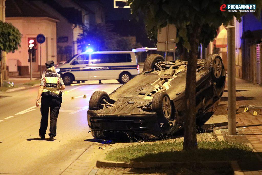 Prometna nesreća Basaričekova ulica Koprivnica