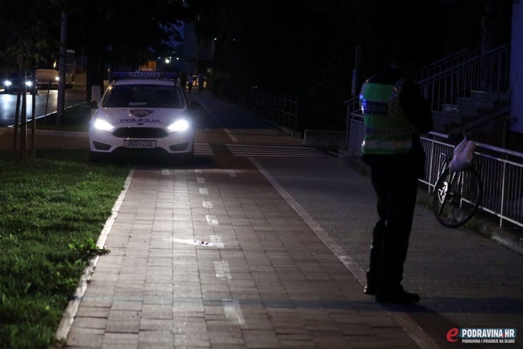 Prometna nesreća biciklist kolodvorska ulica koprivnica