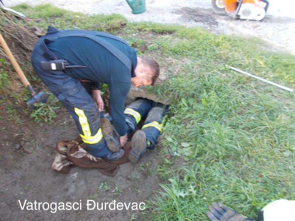 Foto: Facebook Vatrogasci Đurđevac