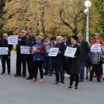 Provjed mještana Draganovca // Foto: Matija Gudlin