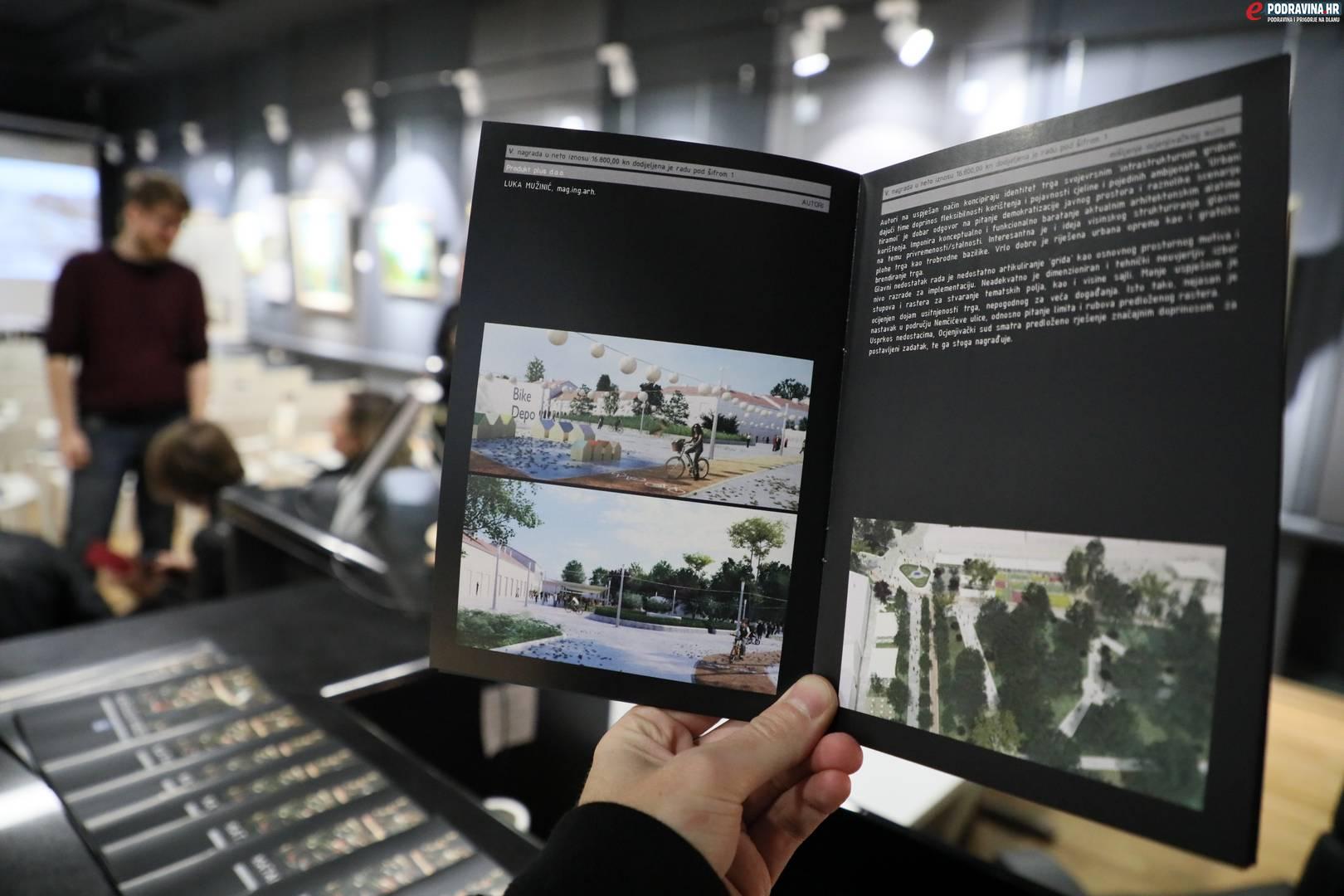 Natječajni radovi rekonstrukcije Zrinskog trga // Foto: Matija Gudlin