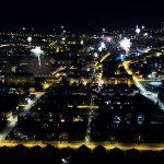 Vatromet Koprivnica iz zraka 2020