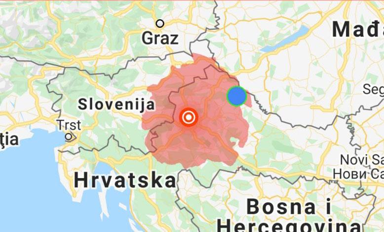 Prije Nekoliko Minuta Jos Jedan Jaci Potres Pogodio Je Zagreb