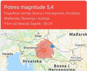 Jos Jedan Potres Pogodio Regiju Zagreb Jako Stradao Epodravina Hr