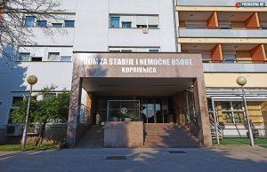 Dom za starije i nemoćne osobe, Koprivnica // Foto: Matija Gudlin