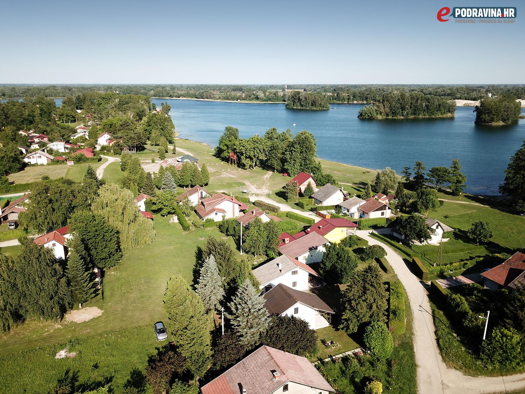Jezero Šoderica - Lazine