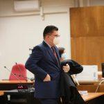 Mladen Jozinović suđenje, Županijski sud u Varaždinu // Foto: Ivan Balija