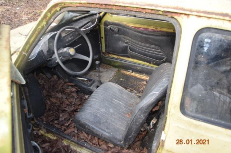 Raboljena vozila // Foto: Općina Legrad
