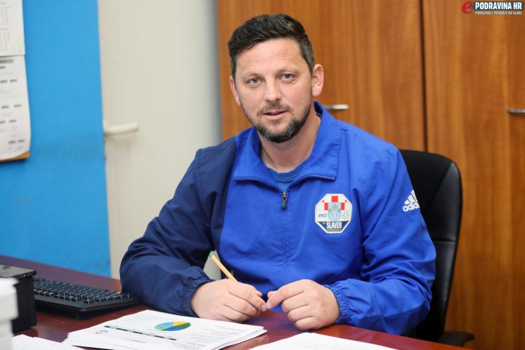 Vedran Medenjak, direktor Škole nogometa Slaven Belupa // Foto: Ivan Balija