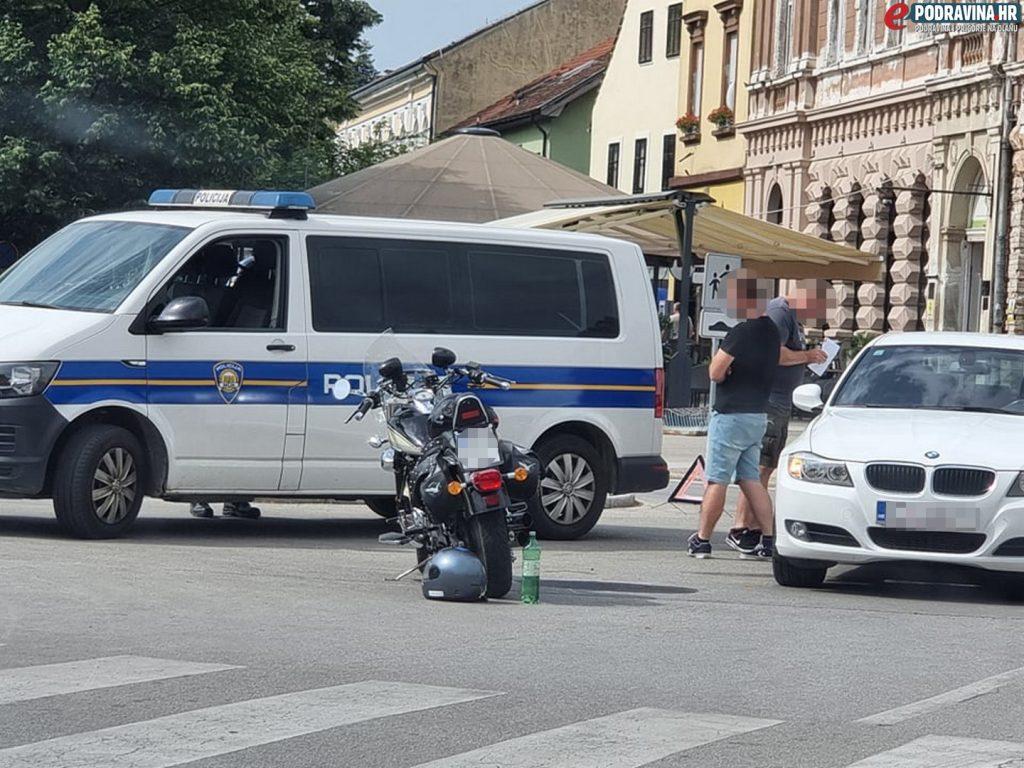Prometna nesreća na Zrinskom trgu