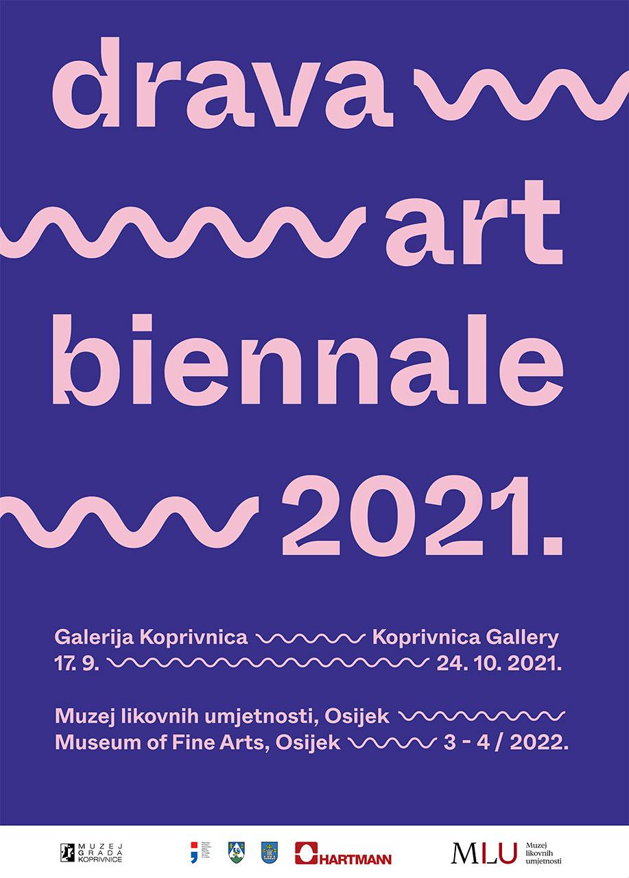 Drava Art Biennale 2021., plakat