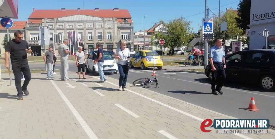 Prometna nesreća ulica Hrvatske državnosti Koprivnica